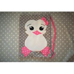 Pingwinek :) Worek dla Małej Odkrywczyni!