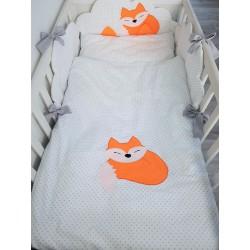 Pościel do łóżeczka z Liskiem :) 100x135