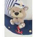 Miś Marynarz :) Dekoracja nad łóżeczko