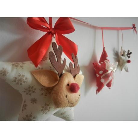 Girlanda świąteczna z Reniferem :)