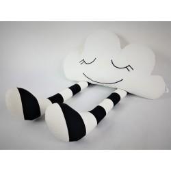 Podusia Chmurka Pasiasta :) Biało-Czarna