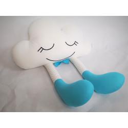 Podusia Chmurka :) Pasiaste rajtuzki, błękitne skarpetki i czarująca mucha :)