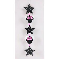 Vertikale Girlande klein: Minnie :)