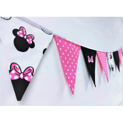 Wimpel Girlande: Minnie Mouse :)
