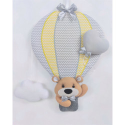 copy of Decoration teddy bear in balloon :) Blue - 1