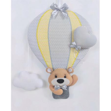 copy of Dekoration Teddybär in Ballon :) Blau - 1
