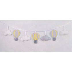 copy of Garland with balloons :) Mint-Grey - 2