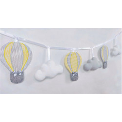 copy of Garland with balloons :) Mint-Grey - 1