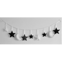 Garland High Contrast White and Black - 2
