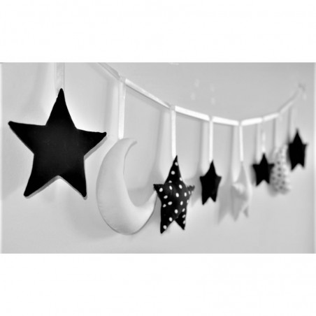 Garland High Contrast White and Black - 1