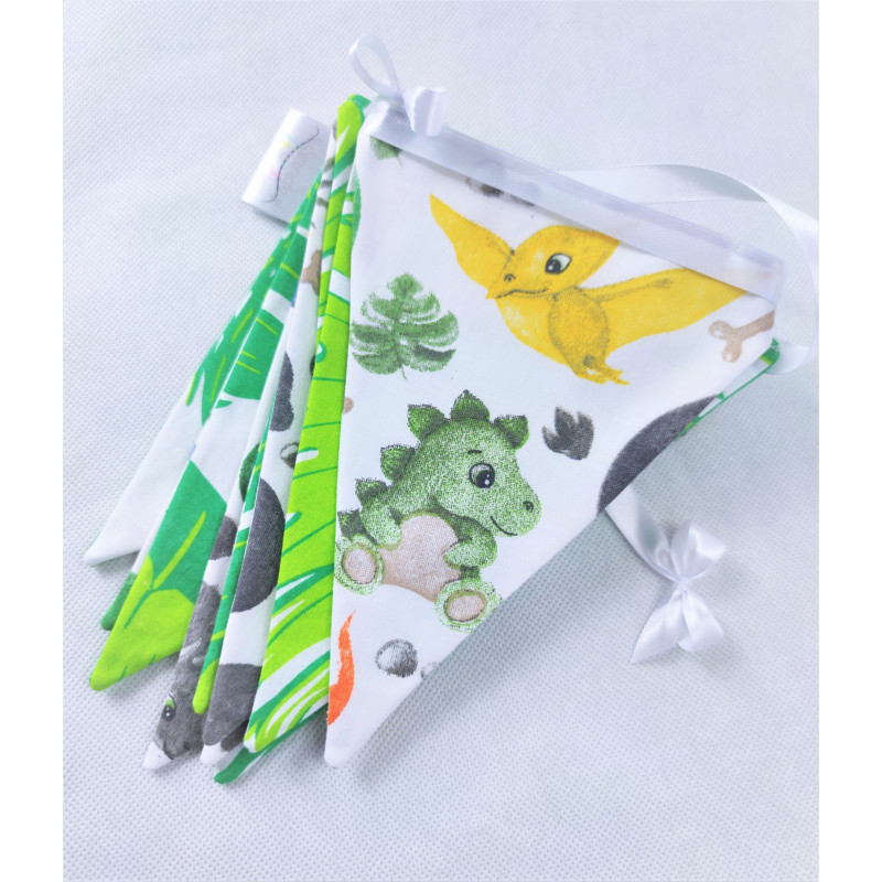 copy of Pennant Garland: Powder pink and mint: Deers :) - 2
