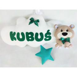 copy of 3D Decoration Teddy bear :) Blue - 1